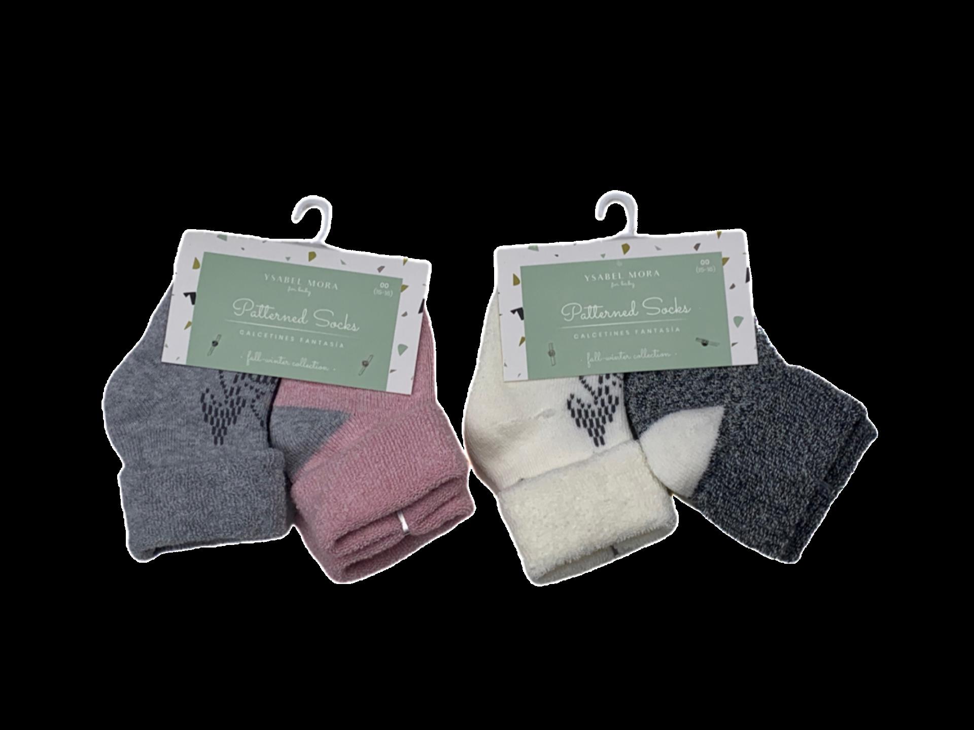 Pack de 2 pares de calcetines de niña Ardilla