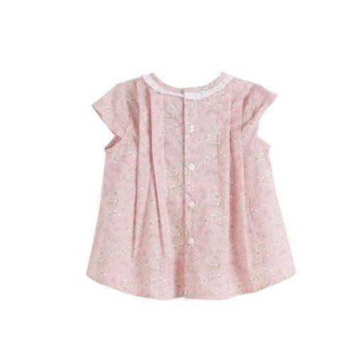 Blusa estampada rosa y flores [1]