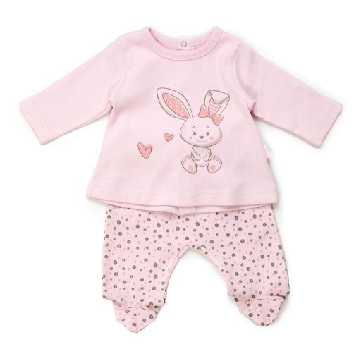 Conjunto niña 2 partes Little Rabbit