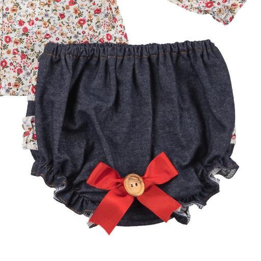 Conjunto 2 piezas para niña Jeans [1]