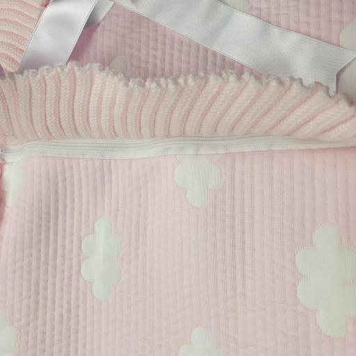 Saco lencero cremallera invisible en rosa Nubes [1]