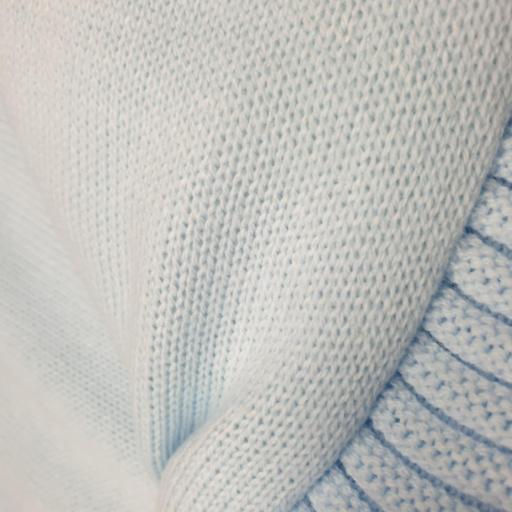 Saco lencero cremallera invisible en celeste Nubes [3]