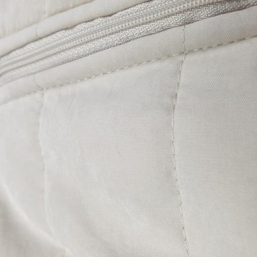 Buzo acolchado y forrado en beige [1]