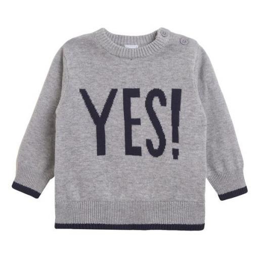 Jersey de niño en gris Yes [0]