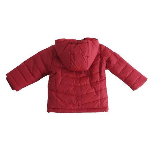 Abrigo para niño en rojo NB [1]