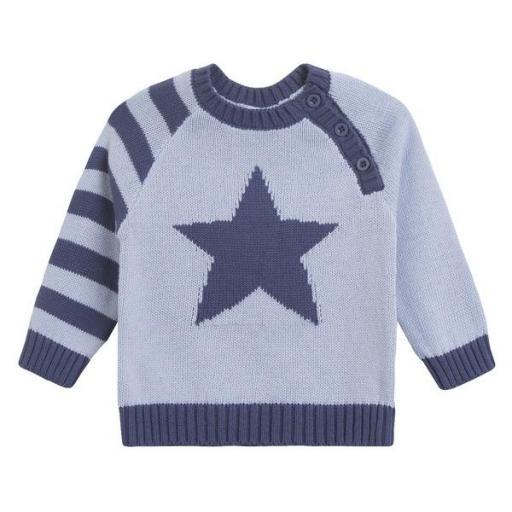 Jersey de niño en azul Blue Star