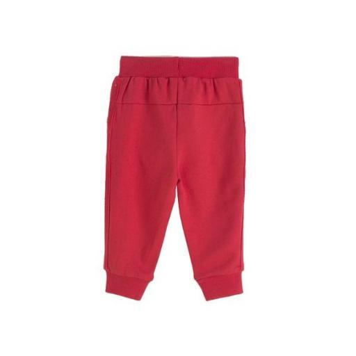 Pantalón largo de chandal niño rojo [1]