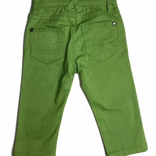 Pantalón vaquero de niño  verde [1]