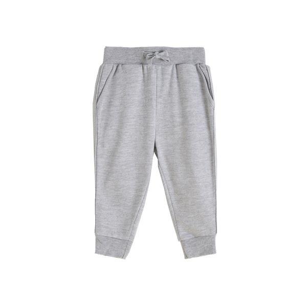 Pantalón largo de chandal niño gris