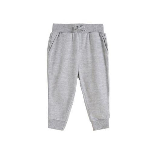 Pantalón largo de chandal niño gris [0]