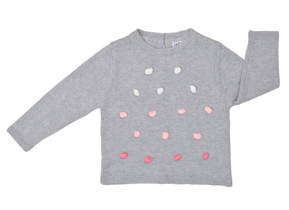 Jersey de niña Pompones