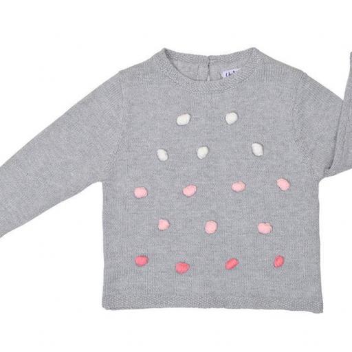 Jersey de niña Pompones [0]