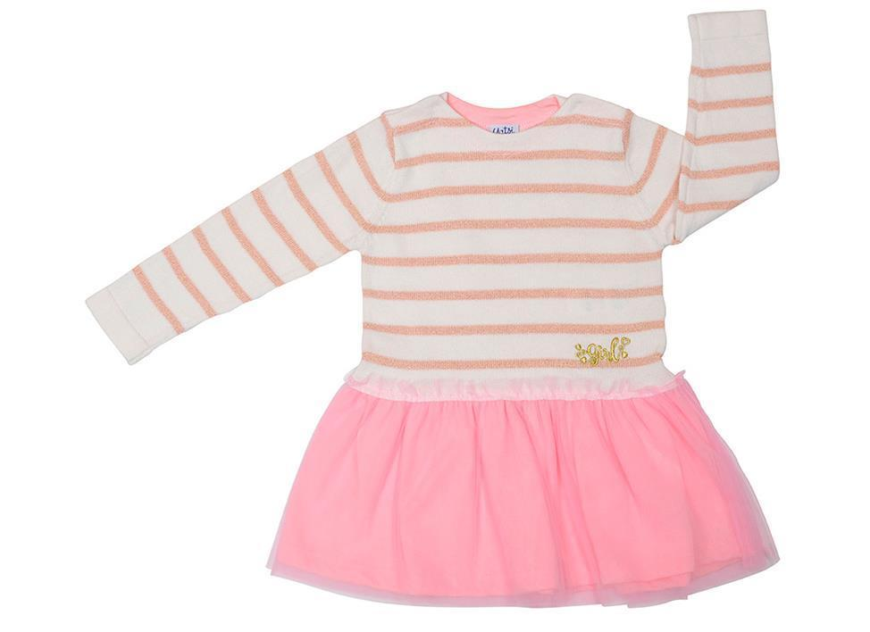 Vestido de niña Lurex
