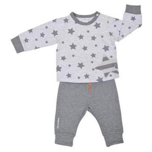 Conjunto niño Grey Stars