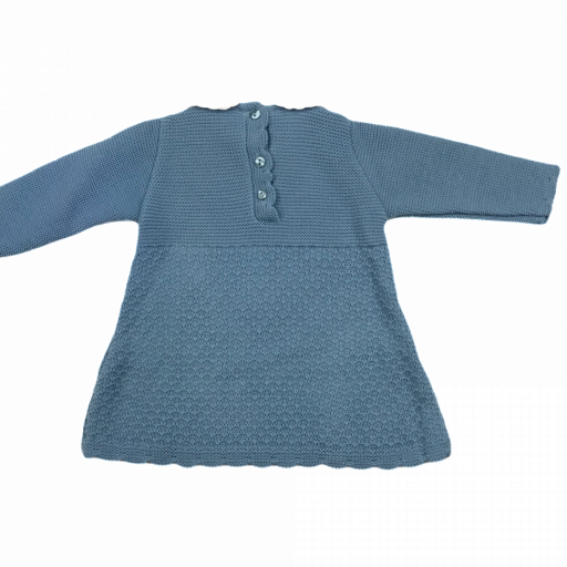 Vestido de punto de primera puesta en cobalto [1]