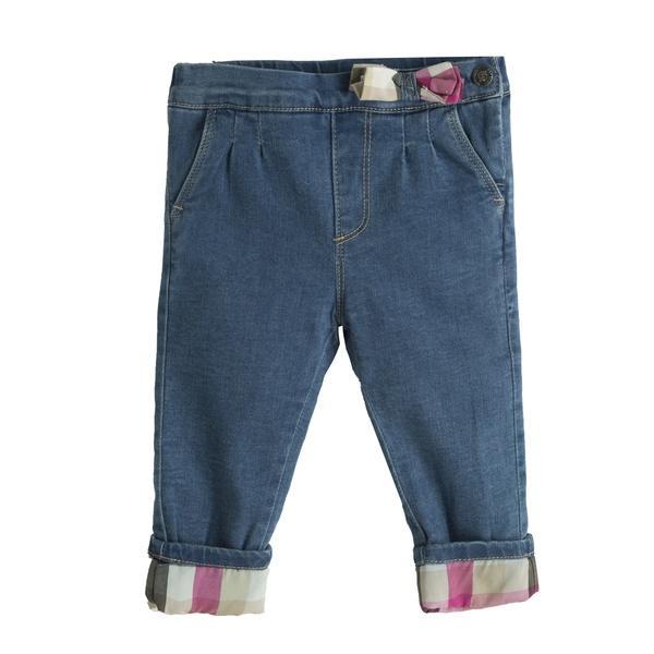 Pantalón vaquero acolchado para niña