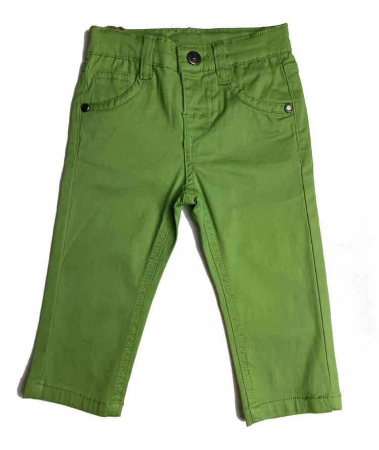 Pantalón vaquero de niño  verde