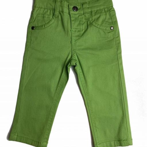 Pantalón vaquero de niño  verde [0]