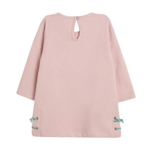 Vestido de niña en rosa Lonely Girl [1]