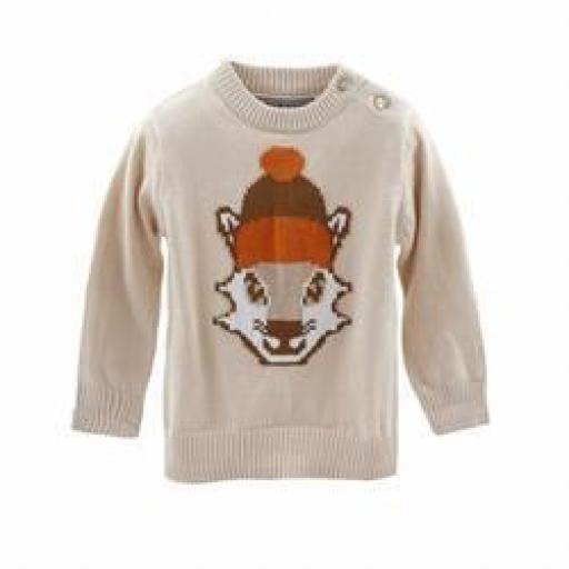 Jersey de niño en beige/camel Wolf