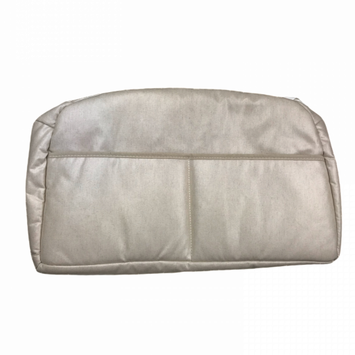 Bolso para cochecito plastificado en beige [1]
