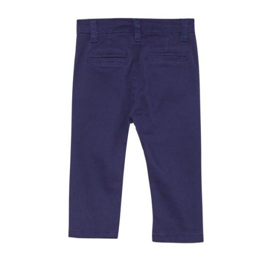 Pantalón tipo chino para niño azul marino [1]
