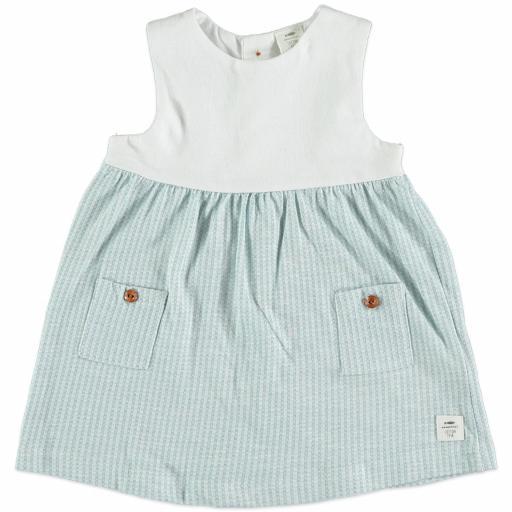 Vestido Blue Pockets