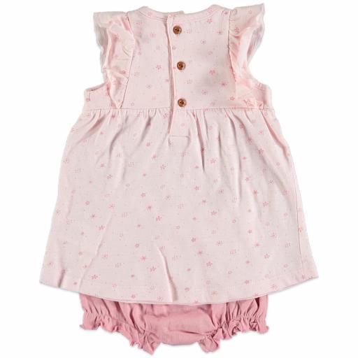 Vestido + cubrepañal Pink Petal [1]