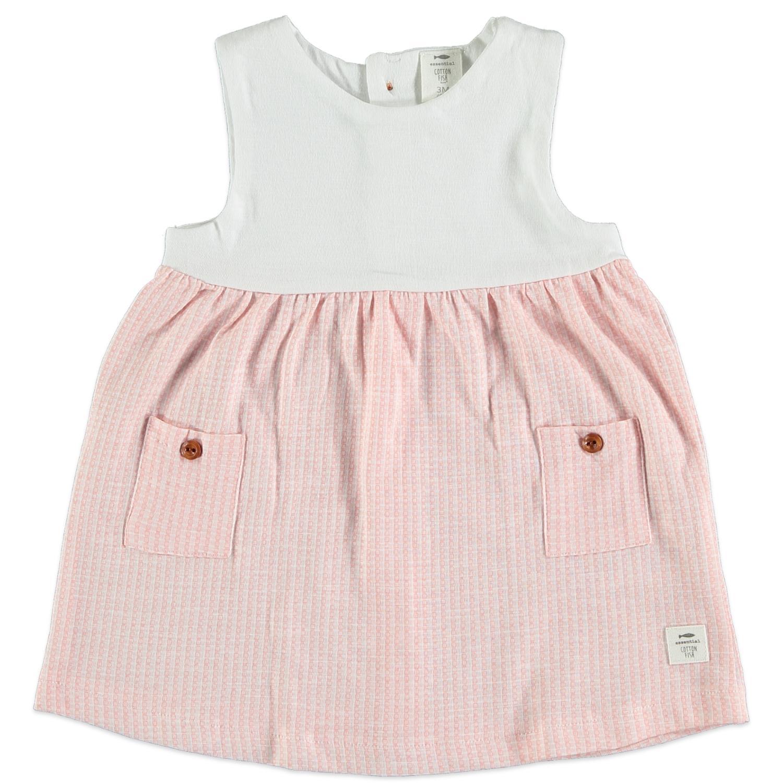 Vestido Pink Pockets