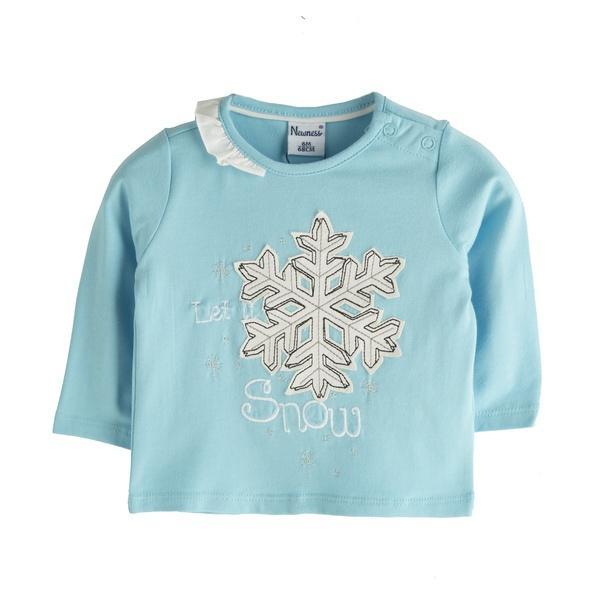 Camiseta de niña Snow Flake