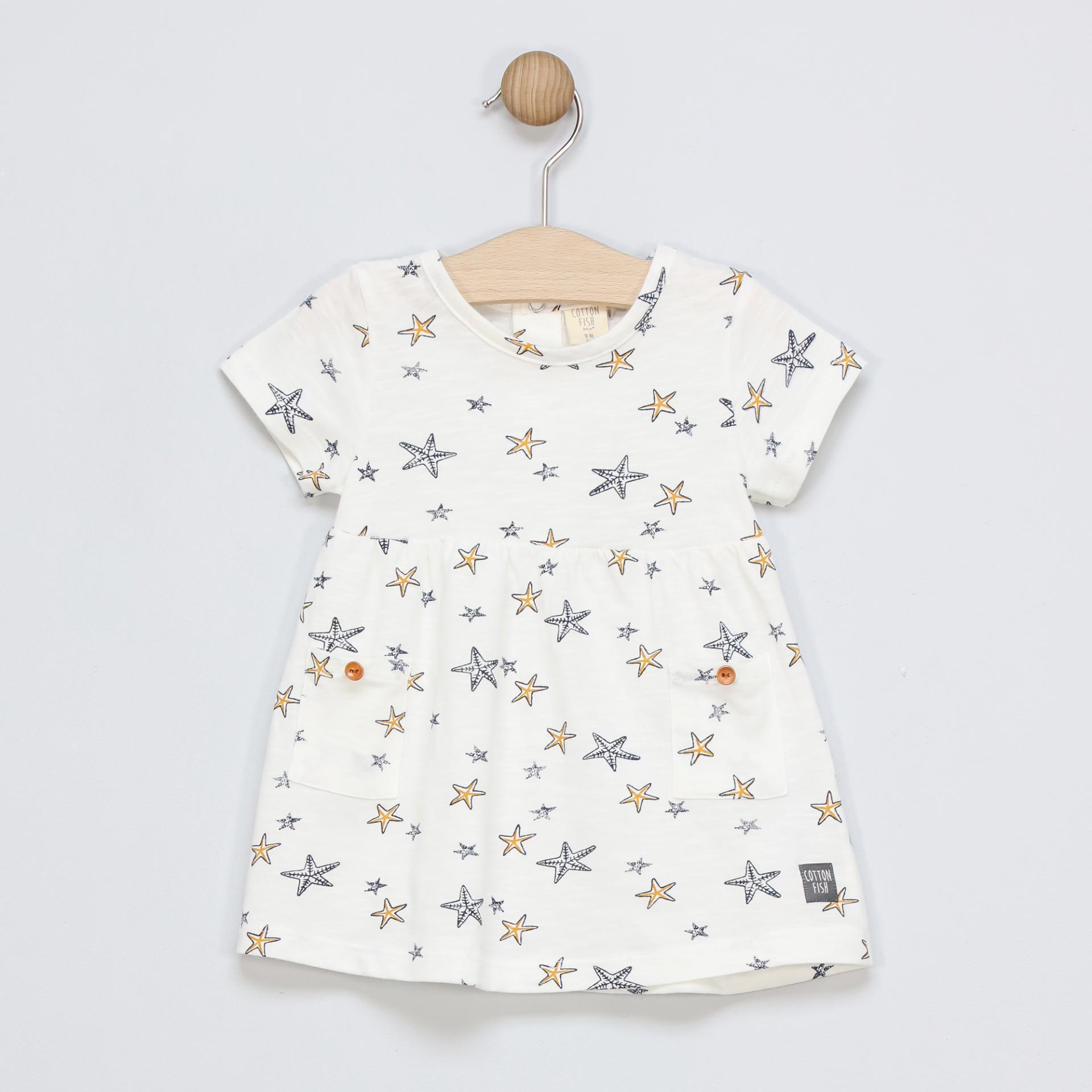 Vestido de algodón Sea Stars