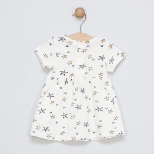 Vestido de algodón Sea Stars [1]