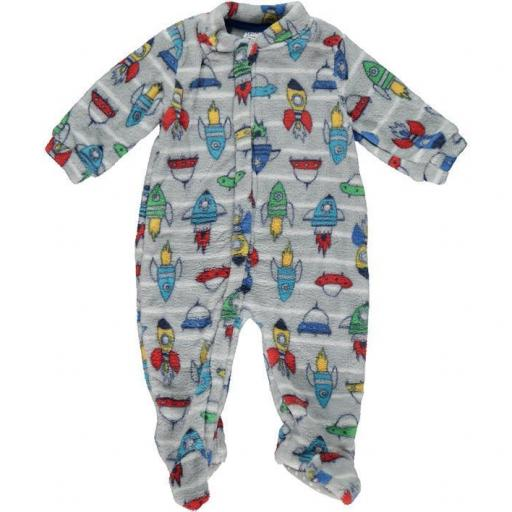 Pijama Manta para niño Cohetes