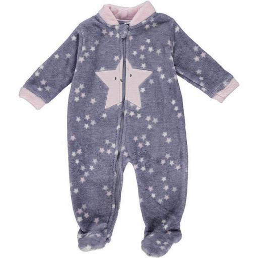 Pijama Manta para niña Coral Stars
