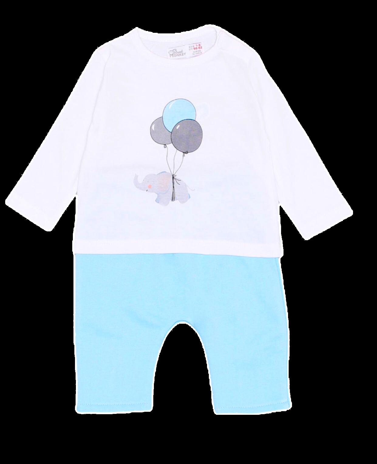 Conjunto niño primera puesta en algodón Balloon