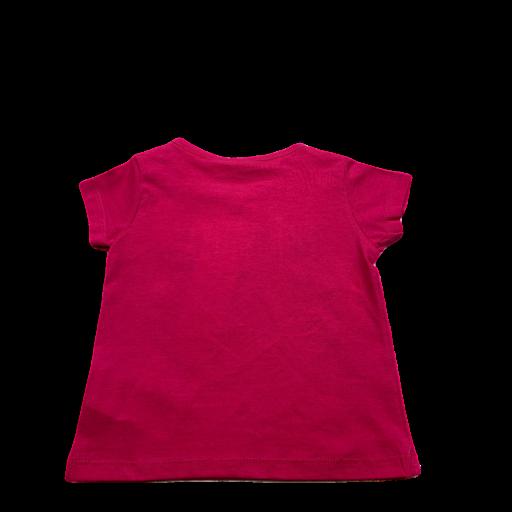 Camiseta de niña fucsia Minnie [1]