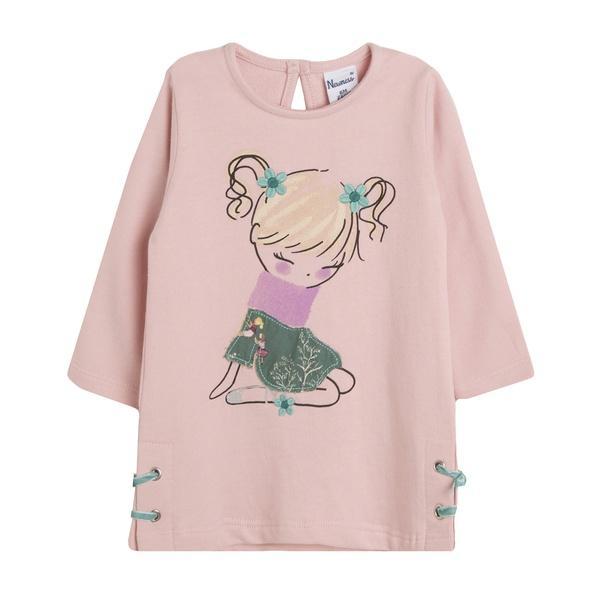 Vestido de niña en rosa Lonely Girl