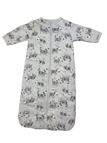 Pelele-Saco para domir unisex en algodón Cebras