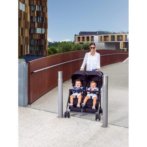 Silla de paseo gemelar Ohlalà Twin [2]