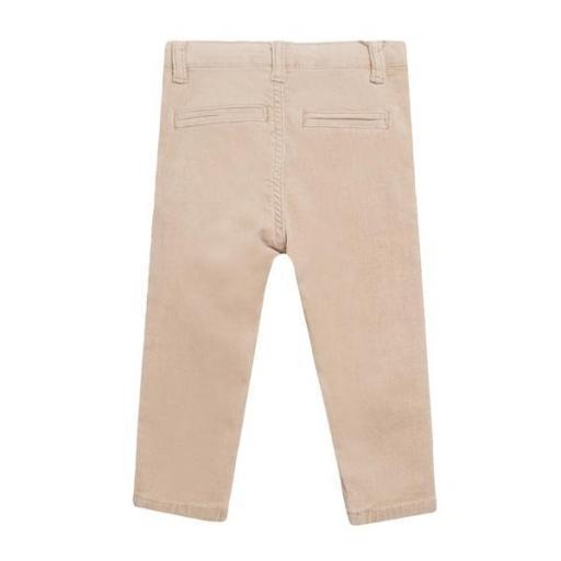 Pantalón de micropana en color camel para niño. [1]