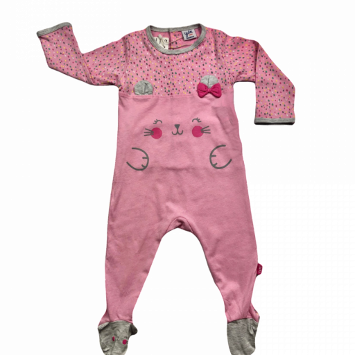Pelele de niña Pink Bunny