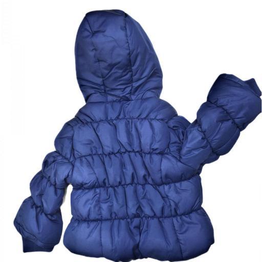 Abrigo para niña azul marino [1]