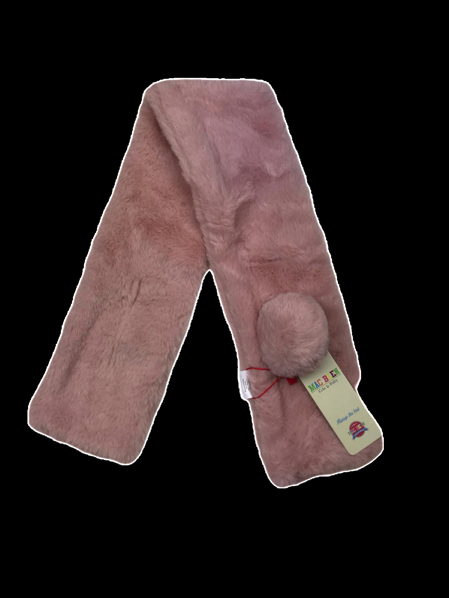 Bufanda-Cuello para bebé en rosa