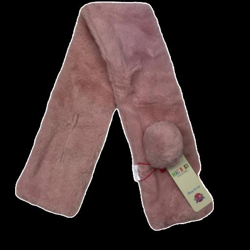Bufanda-Cuello para bebé en rosa [0]