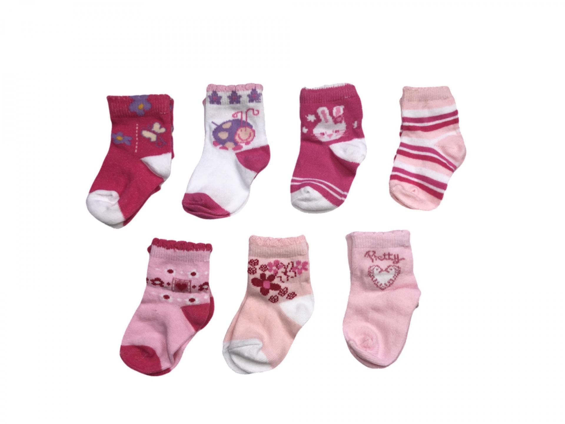 Conjunto de calcetines de niña Pretty
