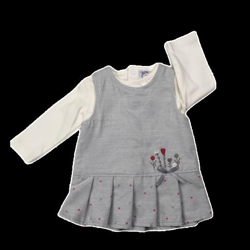 Vestido cojunto de niña Little Flowers
