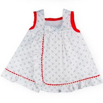 Vestido de niña Anclas [1]