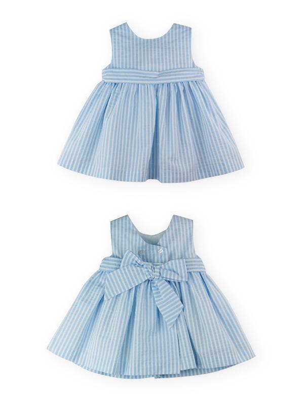 Vestido de niña en azul Summer