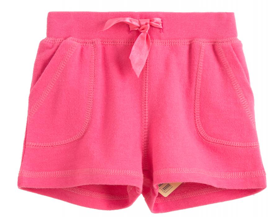Pantalón corto de niña rosa