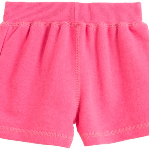 Pantalón corto de niña rosa [1]